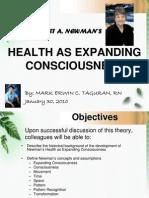 Health as Expanding Consciousness