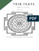 Tantric Texts Series 11 Kaula and other Upanishads with Commentary by Bhaskararaya - Sitarama Shastri 1922 (OUDL).pdf