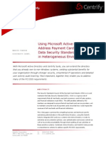 Active Directory and Pci