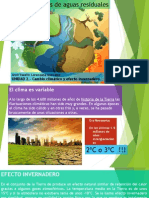 Cambio climatico y efecto invernadero