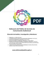 Informe Global Monitoreos 2014 Primera Parte (1)