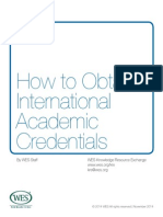 How to Obtain Authentic International Academic Credentials Whitepaper