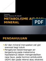 Metabolisme Air Dan Mineral