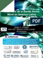 estado y perspectivas de la banda ancha móvil (3G y 4G LTE) en Argentina y region