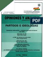 50 Partidos e Ideologias