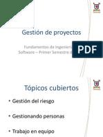 Clase 4 - Gestion de Proyectos