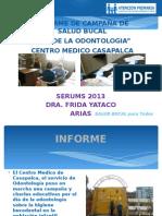Informe Campaña 2013 CASAPALCA