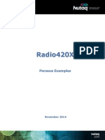 Perseus Examples Radio420