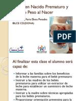 el recien nacido prematuro y de bajo peso chico