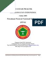 14. Standar Praktik Keperawatan Standard of Nursing Practice
