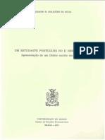 Um Estudante Português no II Reich, 1897-1903 - Apresentação de um diário escrito em alemão