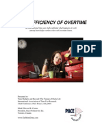 The Inefficiency of Overtime