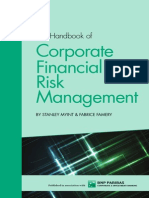 The Handbook of Corporate Financial Risk Management