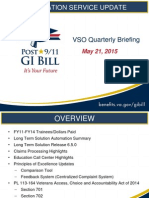 EDU VSO Quarterly Briefing 05212015