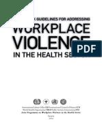 workplace violence case study