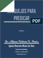 Alfonso Calderón - Bosquejos Para Predicar
