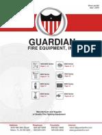 Guardian Fire Fighting Pricelist