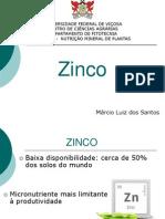 Apresentação Zinco