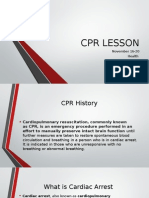 cpr lesson 1