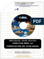 00. Directiva Plan Ppto 2010