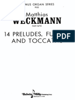 M._weckmann_14 Preludii, Fugi Si Toccate