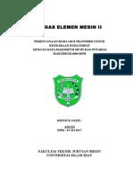 Cover Elemen Mesin II