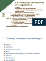 PSICOFARMACOLOGÍA TEMA 1 (ULL)