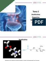PSICOFARMACOLOGÍA TEMA 2(Acetilcolina) - ULL