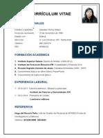 Curriculum Vitae Soldad