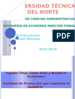 Microeconomia-maximizaion Del Beneficico