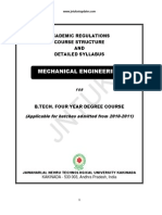 III B.tech.(Mechanical Engg.) II Sem- Syllabus Book
