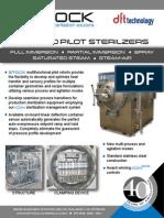 STOCK PRX-900 Pilot Sterilizer