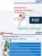 Cashless Campus -NIFT