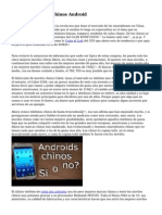 Comprar Moviles Chinos Android