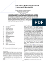 Comparison Study of Drag Prediction by Structured and Unstructured Mesh Method
