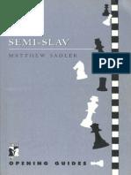 The Semi-Slav - Sadler