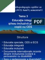 Tema 3 Educatie Integrata Si Educatie Incluziva