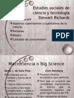 Sociologia de La Ciencias