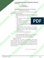 Putusan No. 758/B/PK/PJK/2011