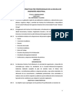 reglamento de Practicas Pre-profesionales Iind-2015