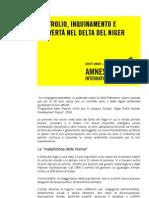 PETROLIO INQUINAMENTO E POVERTA' NEL DELTA DEL NIGER