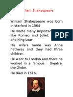 William Shakespeare Tiago Belo