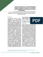 Evaluación de Dos Dilutores Para La Criopreservación de Semen de Caballo Peruano de Paso y Sus Efectos Sobre La Motilidad Espermatica e Integridad Funcional de Membrana