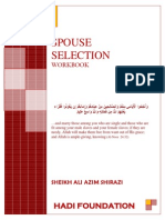 Spouse Selection Workbook