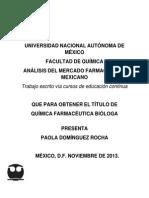 Mercado Farmaceutico Mexicano