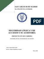 PFC Seguridad Logica y de Accesos y Su Auditoria
