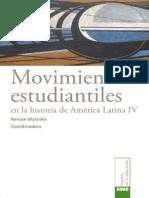 Movimientos Estudiantiles en América Latina IV1 IISUE UNAM