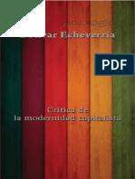 Bolivar Echeverria Lecturas