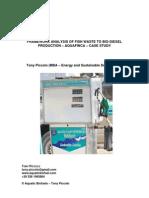 Fishwaste Biodiesel