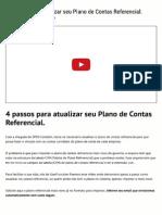 Plano de Contas Referencial (Atualize _ Importe )